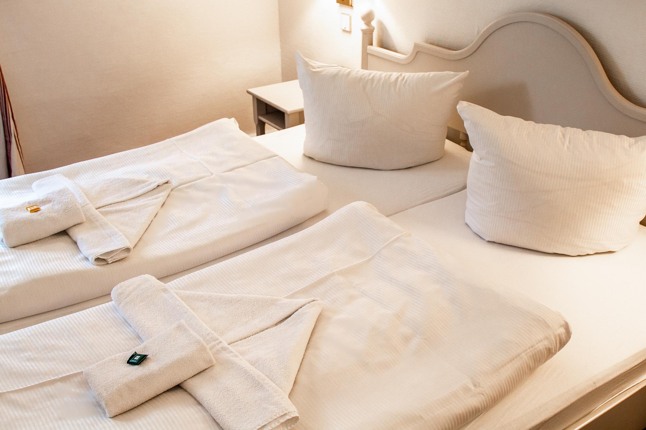 Appartement Beispiel Bett WS