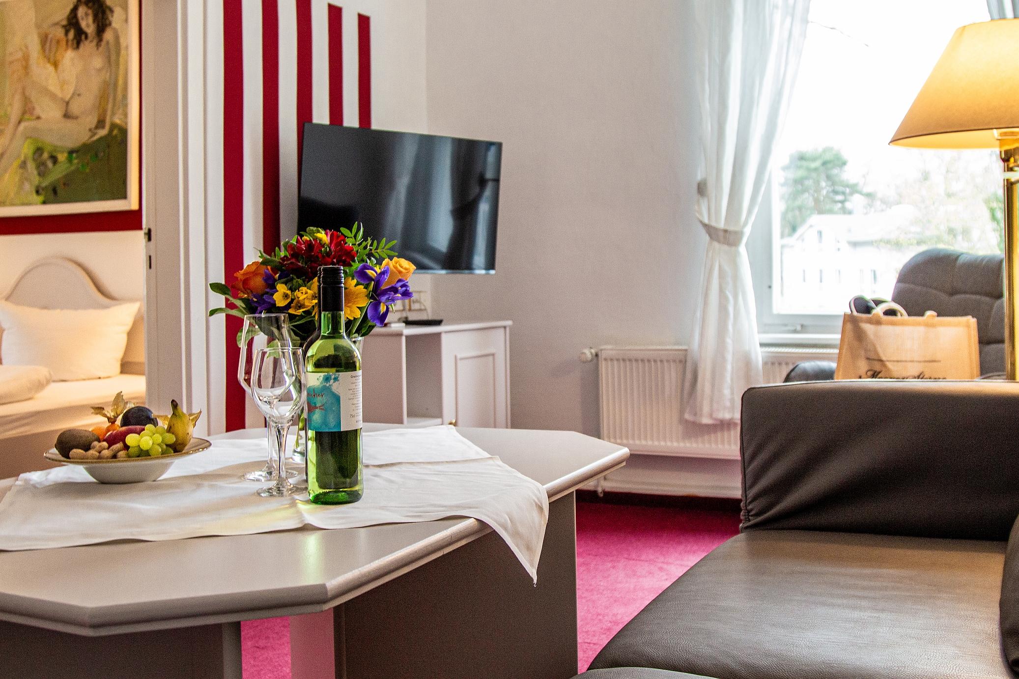 Appartement Wohn und Schlafbereich WS