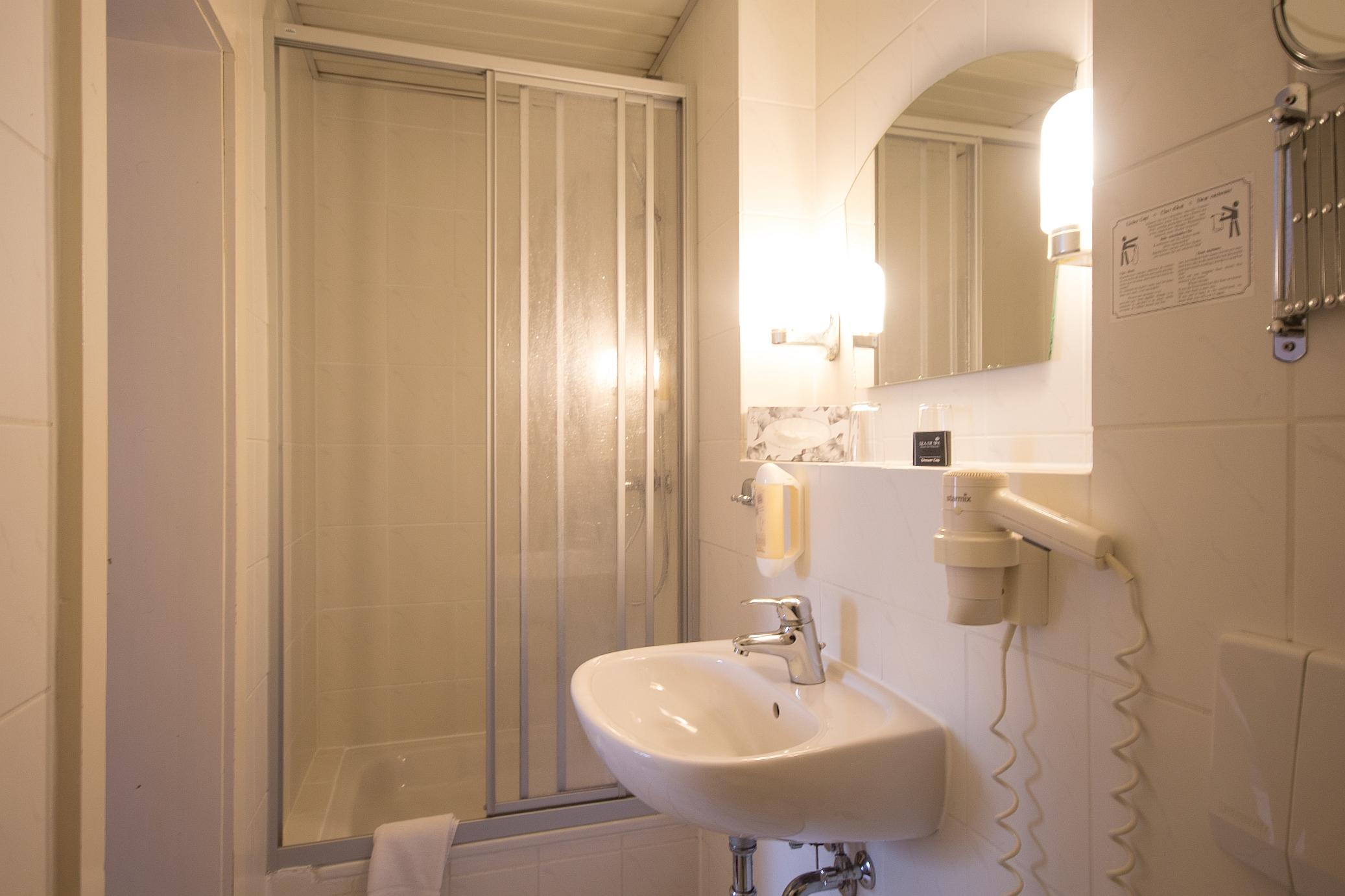 Badezimmer Beispiel Dusche App WS