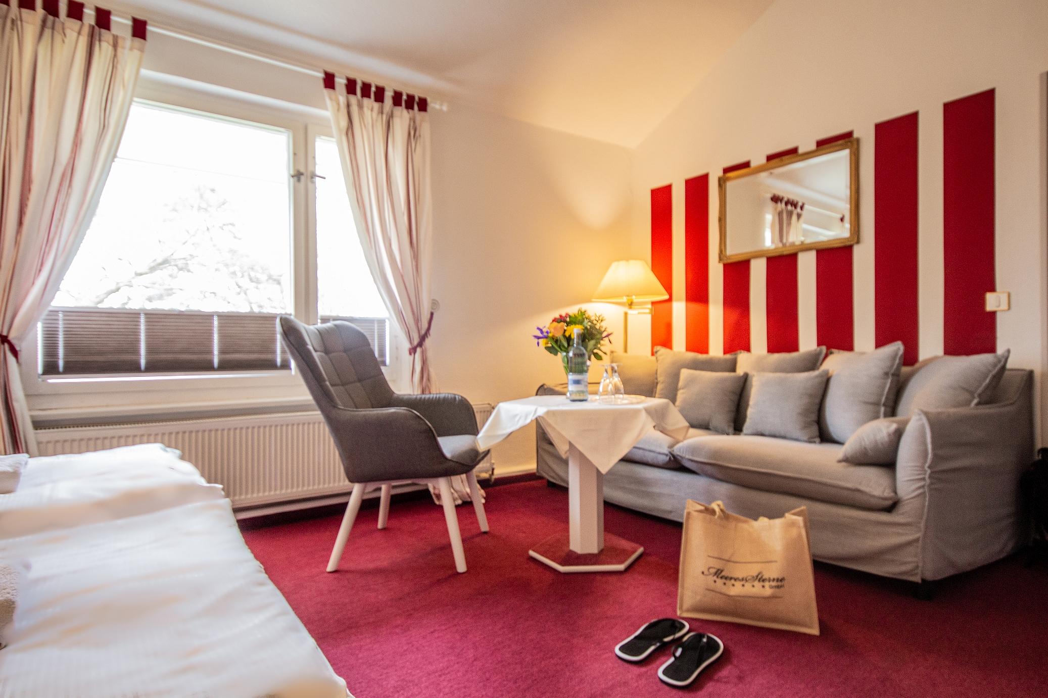 Doppelzimmer Komfort Sitzbereich WS