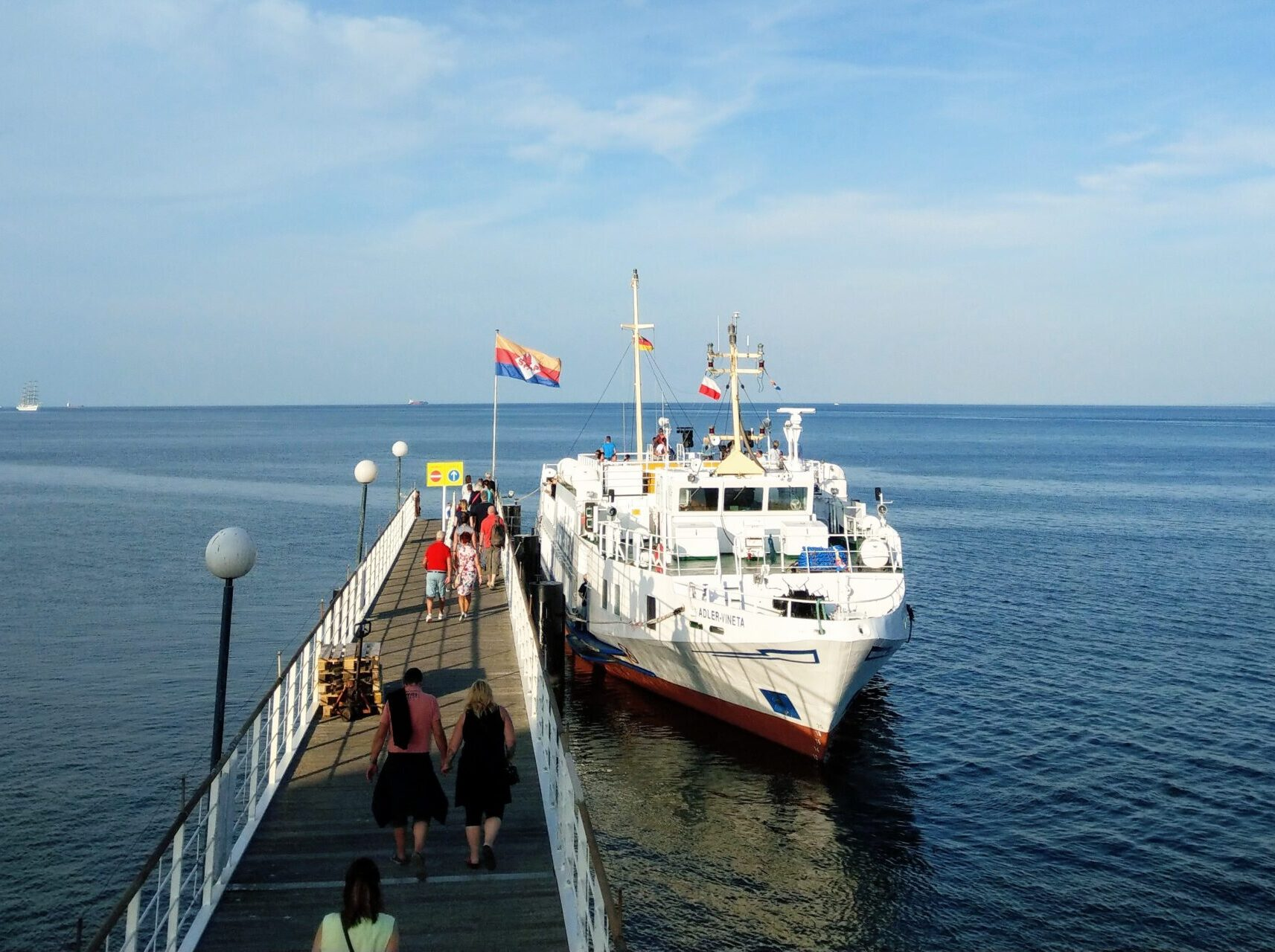 Adler-Schiffe-Usedom