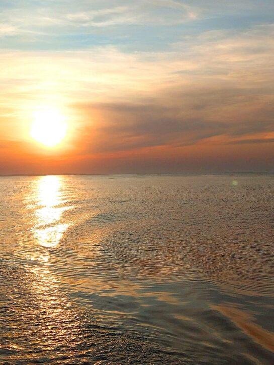 Sonnenuntergang-Ostsee-Usedom