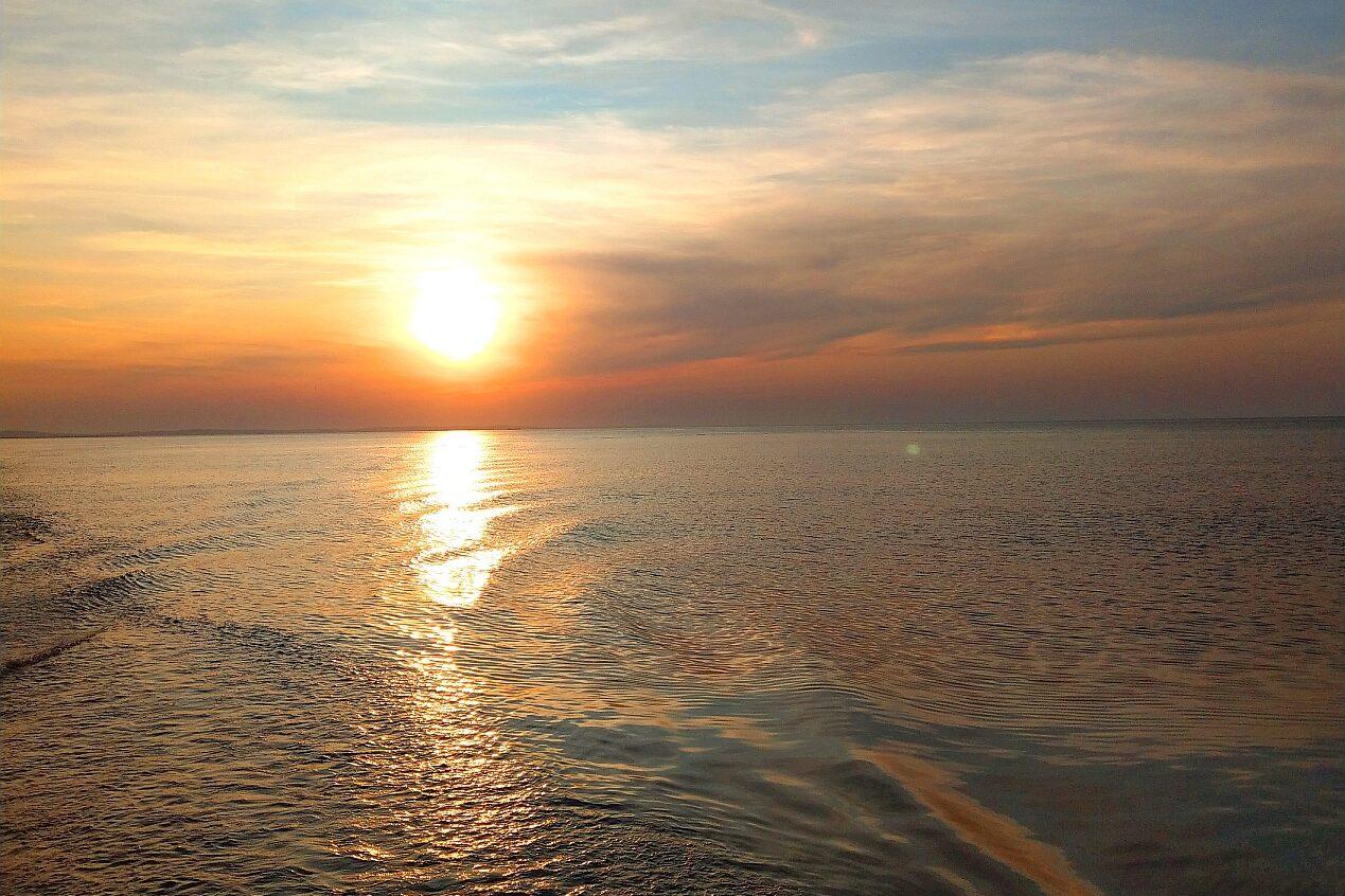 Sonnenuntergang Ostsee Usedom e1621328242651